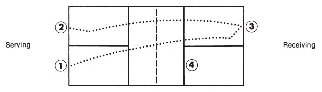 Double Bounce or Two Bounce Rule in Pickleball